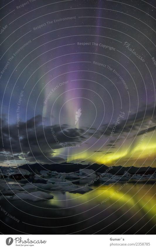 Zauber im Eis_002 Himmel Natur Ferien & Urlaub & Reisen Landschaft Meer Erholung Ferne Strand Gefühle Tourismus Freiheit wandern genießen Abenteuer Stern
