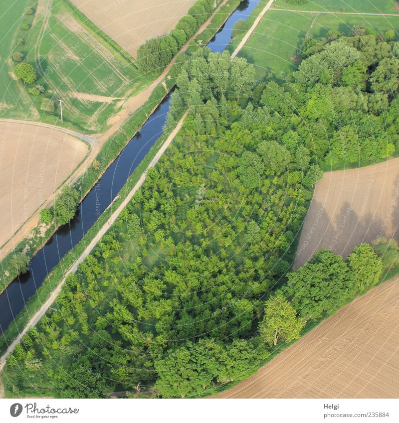 Feld,Wald,Wiese und Fluss... Natur blau Wasser grün Baum Pflanze Umwelt Landschaft Wege & Pfade Gras Frühling Erde braun Freizeit & Hobby