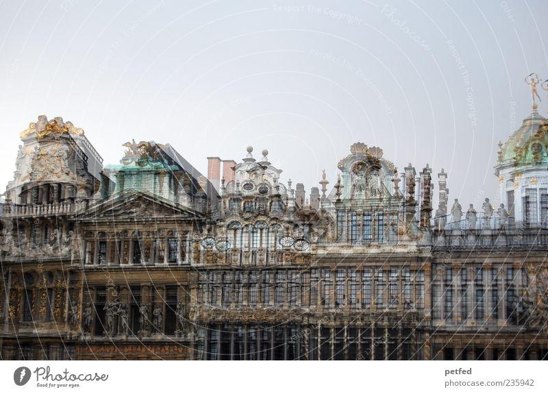 Brussels moves alt Haus Europa Kultur historisch Sehenswürdigkeit Doppelbelichtung Architekt Gebäude Belgien Brüssel Historische Bauten