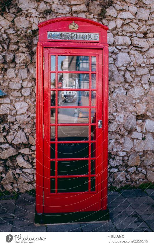 Alte Retro-Telefonzelle Kommunizieren Mitteilung Erinnerung Außenaufnahme PDA sozial Ferien & Urlaub & Reisen