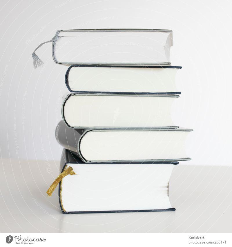 Belle Époque. weiß Buch Bildung Medien dick Stapel Literatur Vor hellem Hintergrund