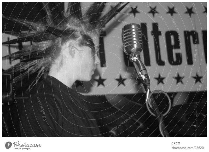 VocalBassPunkRockz Konzert Bühne Show Punkrock Sänger Mann Musik Rockmusik
