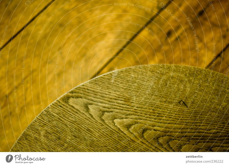 Holz rund Material Fuge Holzfußboden Maserung Holztisch