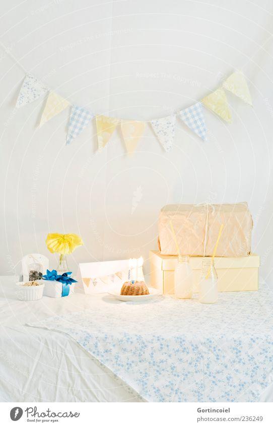Herzlichen Glückwunsch Feste & Feiern Dekoration & Verzierung Kerze schön Geburtstagsgeschenk Kuchen Geschenk Blume Girlande Fahne Happy Birthday Limonade