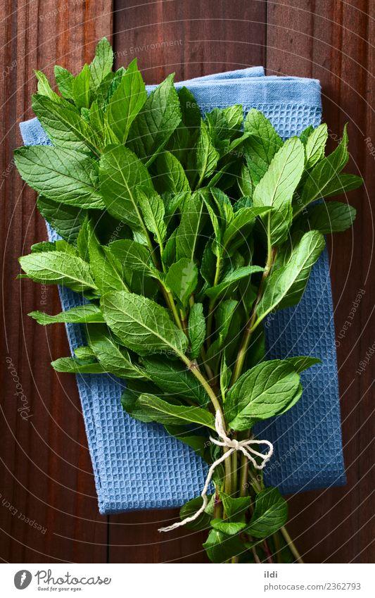 Frische Minze Kräuter & Gewürze Tee Pflanze Blatt frisch Krause Minze Bündel Abhilfe Medizin aromatisch Zutaten duftig Zweig Geschmack Gesundheit Kräuterbuch