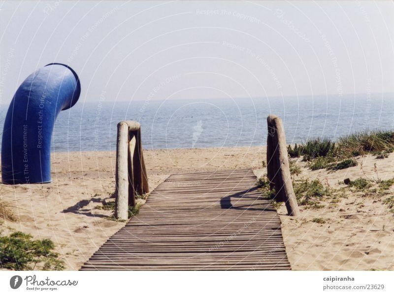 pfad Meer Strand Holz Wege & Pfade Graffiti Geländer