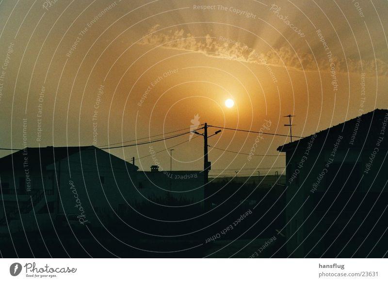 Peniche2003 Sommer Meer Wärme Europa Physik Sonnenuntergang