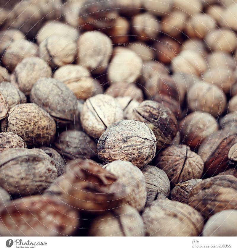 nüsse Lebensmittel Nuss Walnuss Ernährung Fingerfood lecker Farbfoto Außenaufnahme Menschenleer Tag Natur natürlich natürliche Farbe Gedeckte Farben nußbraun