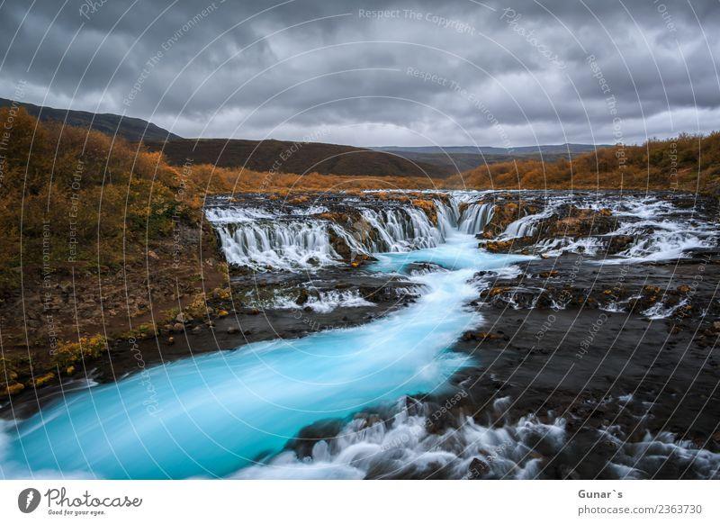 Zauber der Natur_004 Ferien & Urlaub & Reisen blau Wasser Landschaft Erholung Wolken Ferne gelb Umwelt Tourismus Freiheit braun Ausflug wandern Abenteuer