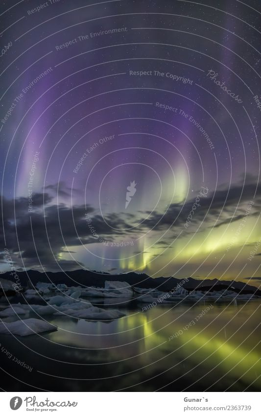 Zauber im Eis_003 Ferien & Urlaub & Reisen grün Landschaft Erholung Ferne Berge u. Gebirge gelb Tourismus Freiheit Ausflug wandern Abenteuer Stern Urelemente