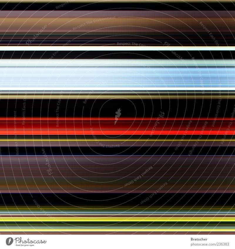 Adrenalin Gefühle Linie Hintergrundbild Streifen gestreift abstrakt Lichtspiel Design Bewegungsunschärfe Farbenspiel Lichtstreifen mehrfarbig Muster liniert Lichtkunst Lichtbahn