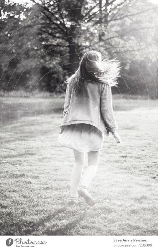 600. Mensch Jugendliche schön Mädchen Freude Erwachsene Wiese feminin Bewegung Glück Park Zufriedenheit Tanzen laufen natürlich außergewöhnlich