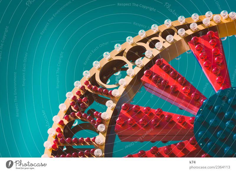 NYC - Luna Park Coney Island - OOoo Ferien & Urlaub & Reisen grün rot Freude gelb Ausflug Freizeit & Hobby verrückt USA Jahrmarkt Glühbirne Leuchtreklame