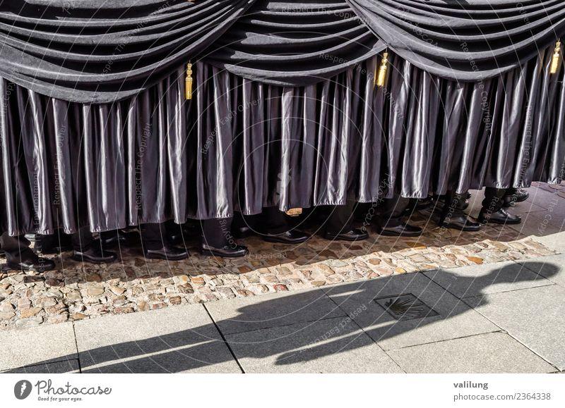Karwoche Prozession in Spanien Feste & Feiern Ostern Kultur Stadt Straße historisch Leidenschaft Religion & Glaube Tradition Kastilien-Leon Castilla-Leòn
