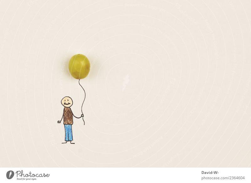 Weintraubenballon Freude Freizeit & Hobby Spielen Kindererziehung Bildung Kindergarten Schule Mensch maskulin Kleinkind Junge Kindheit Jugendliche Leben 1 Kunst