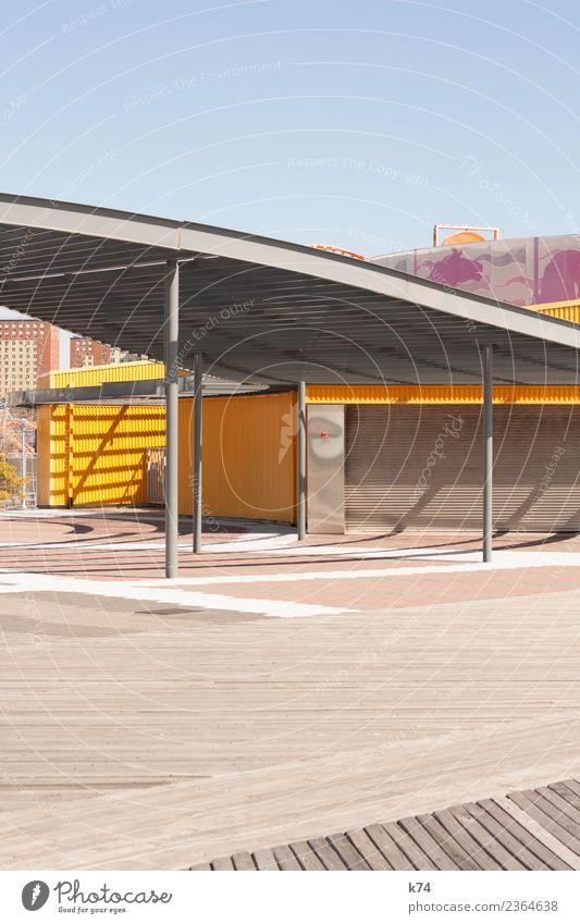 NYC - Luna Park Coney Island - Roof blau gelb Holz rosa Ausflug Metall frisch Fröhlichkeit USA Sauberkeit violett Hauptstadt Amerika Stadtzentrum
