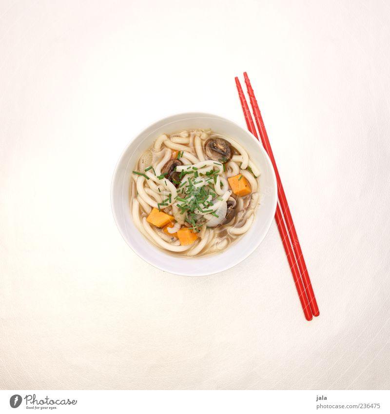 kake udon Lebensmittel Gemüse Suppe Eintopf Nudeln Udon Ernährung Mittagessen Vegetarische Ernährung Japanisch japanische küche Schalen & Schüsseln Essstäbchen