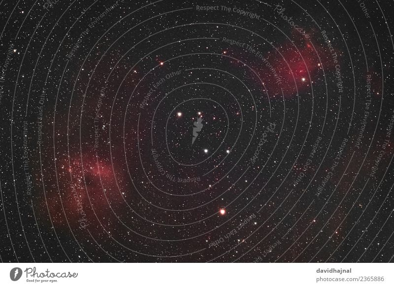 Flammensternnebel Wissenschaften Raumfahrt Astronomie Umwelt Natur Himmel nur Himmel Nachthimmel Stern Winter Milchstrasse Fuhrmann Sternbild IC 410 IC 405