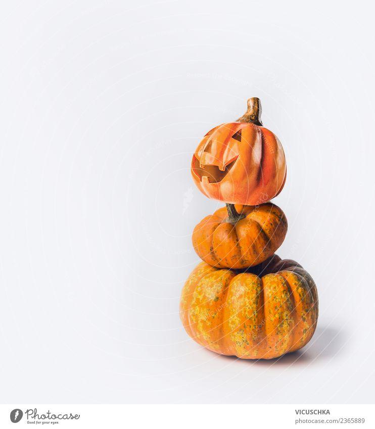 Kürbis Männchen Gemüse Stil Design Feste & Feiern Erntedankfest Halloween Tradition Hintergrundbild Symbole & Metaphern Mänchen Humor Vor hellem Hintergrund