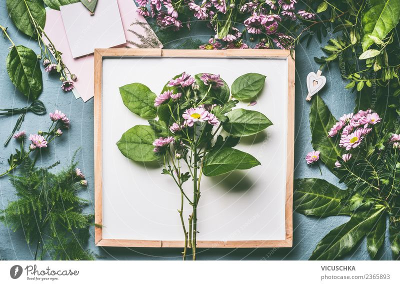 Blumenstrauß mit grünen Blättern kaufen Stil Design Sommer Dekoration & Verzierung Tisch Feste & Feiern Muttertag Hochzeit Geburtstag Natur Pflanze Blatt Blüte