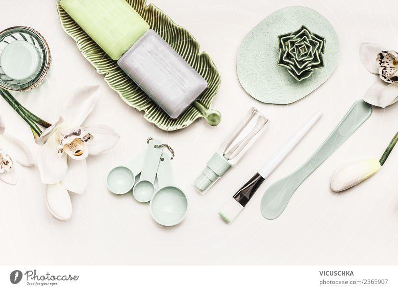 Moderne Hautpflege zu Hause Pflanze schön Blume Gesundheit Stil Häusliches Leben Design Dekoration & Verzierung modern kaufen Reinigen Wellness Beautyfotografie