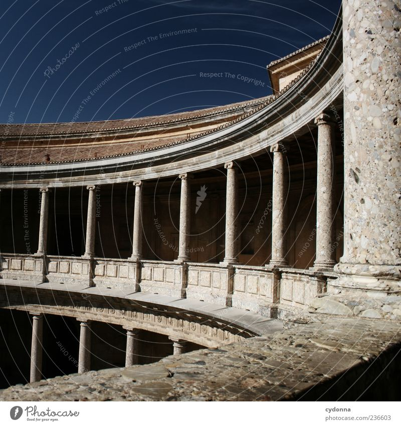 Kurvig Lifestyle elegant Design Ferien & Urlaub & Reisen Tourismus Ausflug Sightseeing Sommerurlaub Wolkenloser Himmel Bauwerk Architektur Fassade