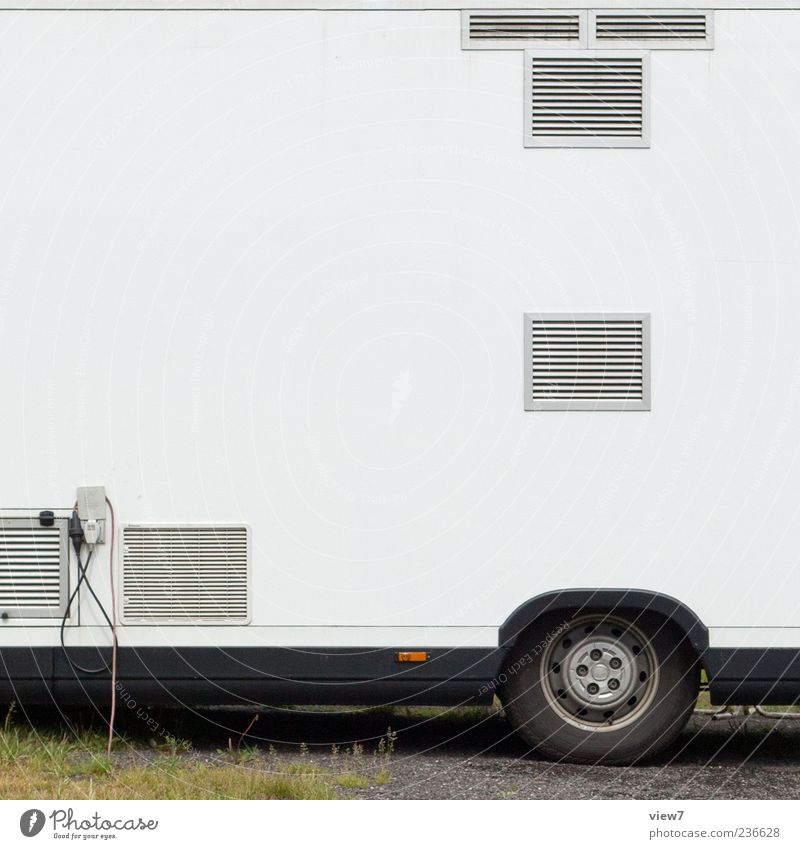 Döner BackEnd weiß Metall Linie modern neu Kabel einzigartig Güterverkehr & Logistik Rad Fahrzeug Anschluss Lüftung Transporter Verkaufswagen
