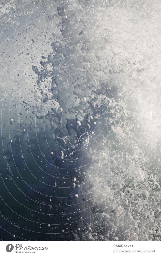 #A# white explosion Kunst ästhetisch Wasser Wassertropfen Wasseroberfläche Wasserfall Wasserkraftwerk Partikel weiß Wellen Wellenform Wellenschlag Wellenbruch