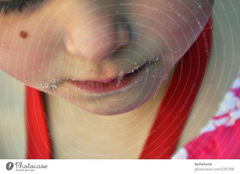 Zuckerschnute Mensch Kind schön Mädchen Gesicht Auge Leben Kopf Sand träumen Kindheit Mund Nase Lippen Kleinkind 3-8 Jahre