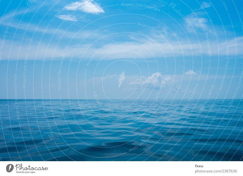 Ozean Meer Unendlichkeit Natur Sommer Schönes Wetter Himmel Sonne Blauer Himmel Ferien & Urlaub & Reisen Thailand kho lipe Südostasien Asien süd thailand