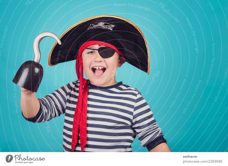 Kind Mensch Ferien & Urlaub & Reisen Freude Lifestyle Gefühle Bewegung Party Feste & Feiern maskulin Kindheit Geburtstag Fröhlichkeit Lächeln Abenteuer Macht