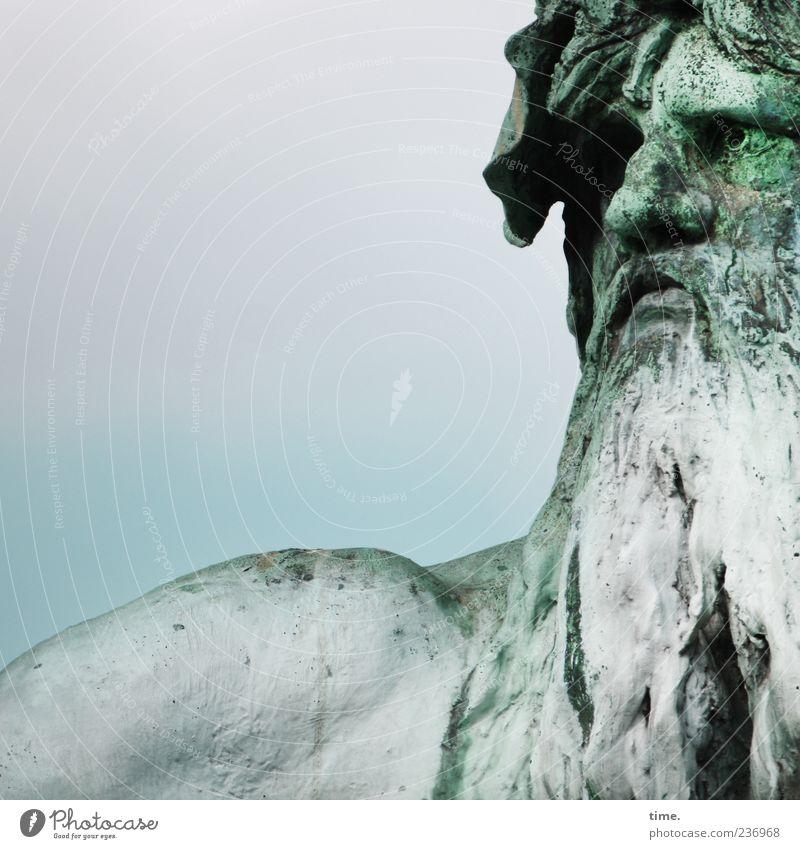 Der Häuptling von Berlin Gesicht maskulin Mann Erwachsene Bart Kunst Kunstwerk Skulptur Vollbart Bekanntheit historisch Originalität einzigartig Macht
