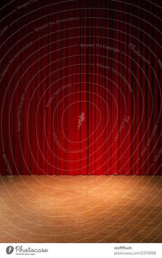 Vorhang auf! Stil Entertainment Veranstaltung Musik Tanzen Feste & Feiern Theaterschauspiel Bühne Tanzveranstaltung Kultur Show Konzert Holz Musik hören rot