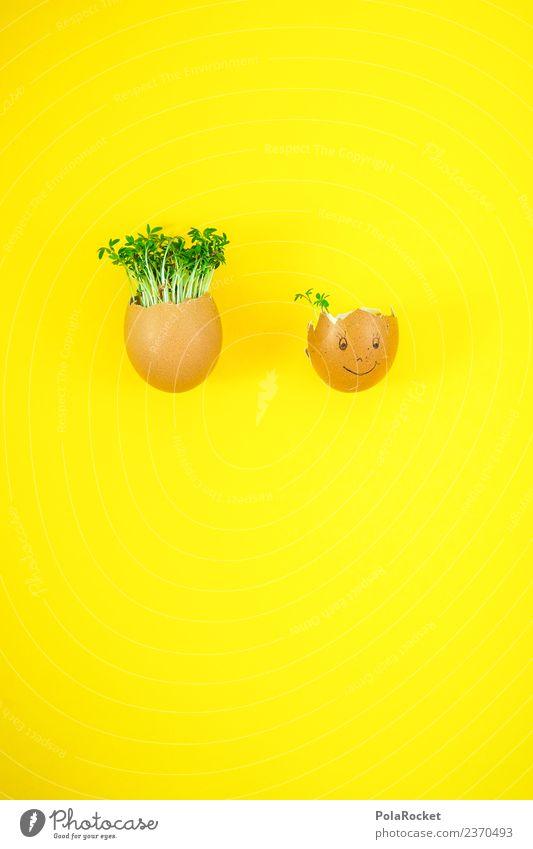 #S# Haarausfall Lebensmittel Freude Ei Ostern Kresse Kunst ästhetisch Witz grün gelb nachhaltig Haare & Frisuren Haare schneiden Basteln Kindheit Gesicht frisch