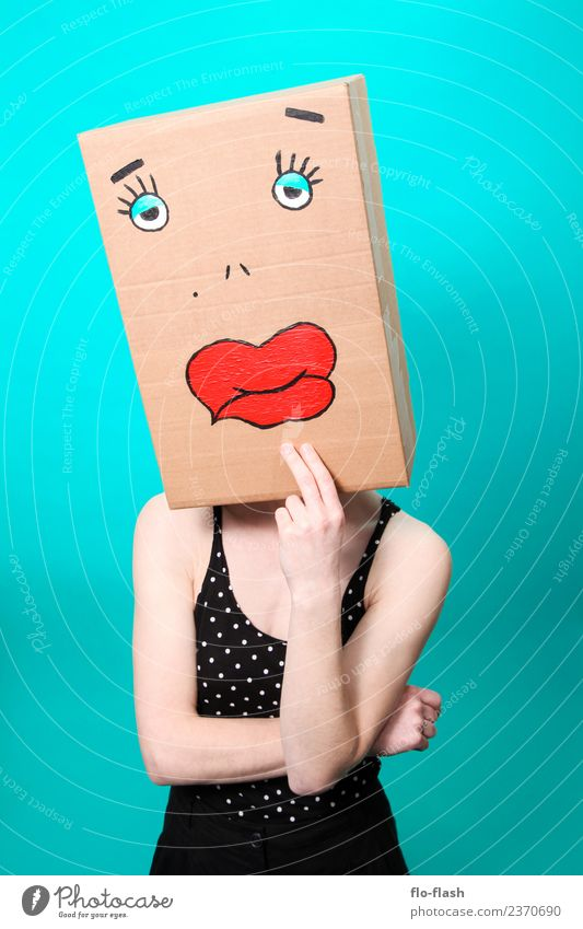 KARTOON · DUGGI III Frau Mensch Jugendliche Junge Frau schön Erotik Freude 18-30 Jahre Erwachsene feminin Feste & Feiern Sex Fitness Studium Wellness Lippen