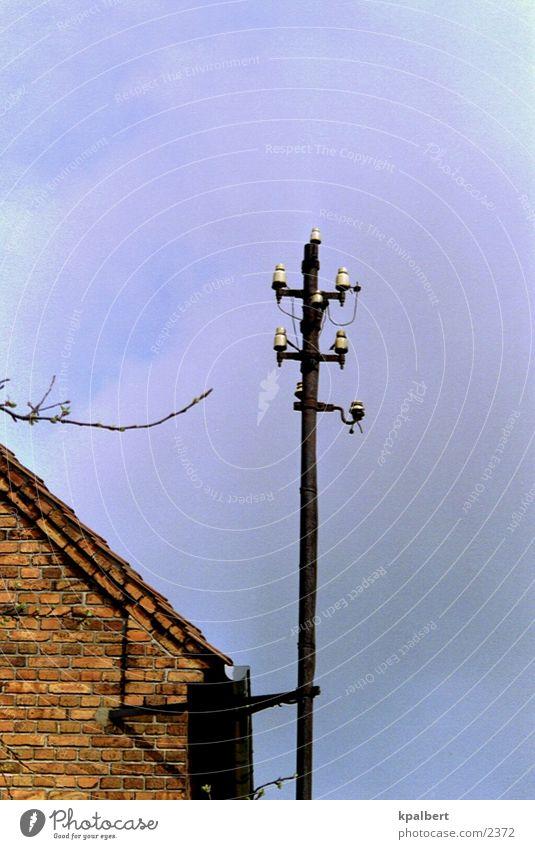 Keine Verbindung Fernschreiber Strommast Elektrisches Gerät Technik & Technologie keine Verbindung