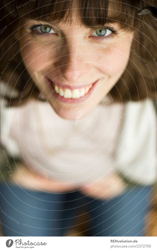 Julia strahlt Frau Mensch Jugendliche Junge Frau schön Freude 18-30 Jahre Gesicht Erwachsene Lifestyle natürlich Gefühle feminin Stil Glück Zufriedenheit