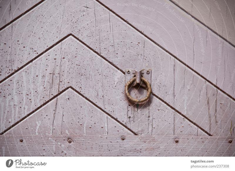 KLINGEL alt Wand Holz Linie Tür Hintergrundbild rosa Pfeil Postkarte Tor Eingang antik graphisch Klingel Maserung aufmachen