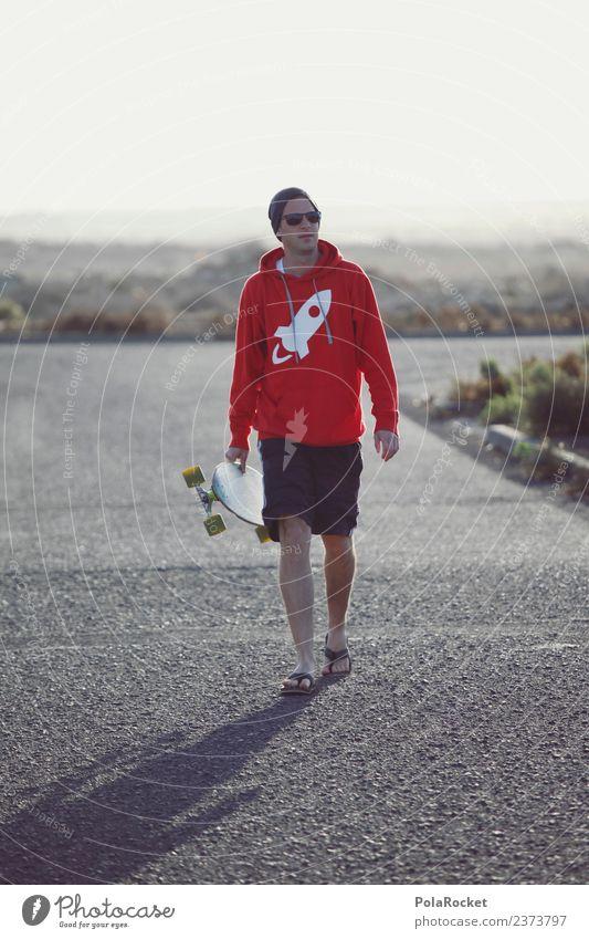 #AS# draußen Kunst ästhetisch Inline Skating Skateboard Longboard Außenaufnahme Jugendkultur Freiheit laufen Freizeit & Hobby Jugendliche Fuerteventura