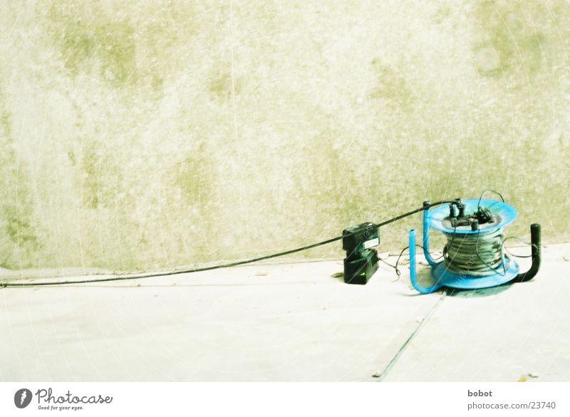 Komm zu Pappi Stecker Wand Handwerk elektrisch Elektromonteur Elektrisches Gerät Elektrizität Technik & Technologie Kabeltrommel Elektronik Leitung