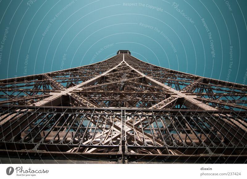 ...noch mehr Nieten! alt Ferien & Urlaub & Reisen Sommer Architektur Ausflug groß Tourismus authentisch außergewöhnlich Europa Turm Bauwerk Paris historisch