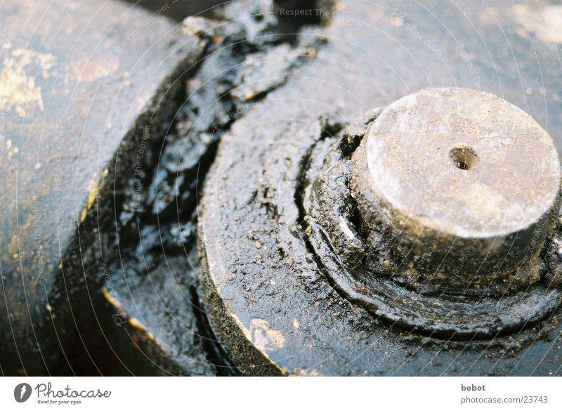 Heavy Metal I Metall Industrie Verbindung Maschine Erdöl Gelenk schmierig Schmierstoff