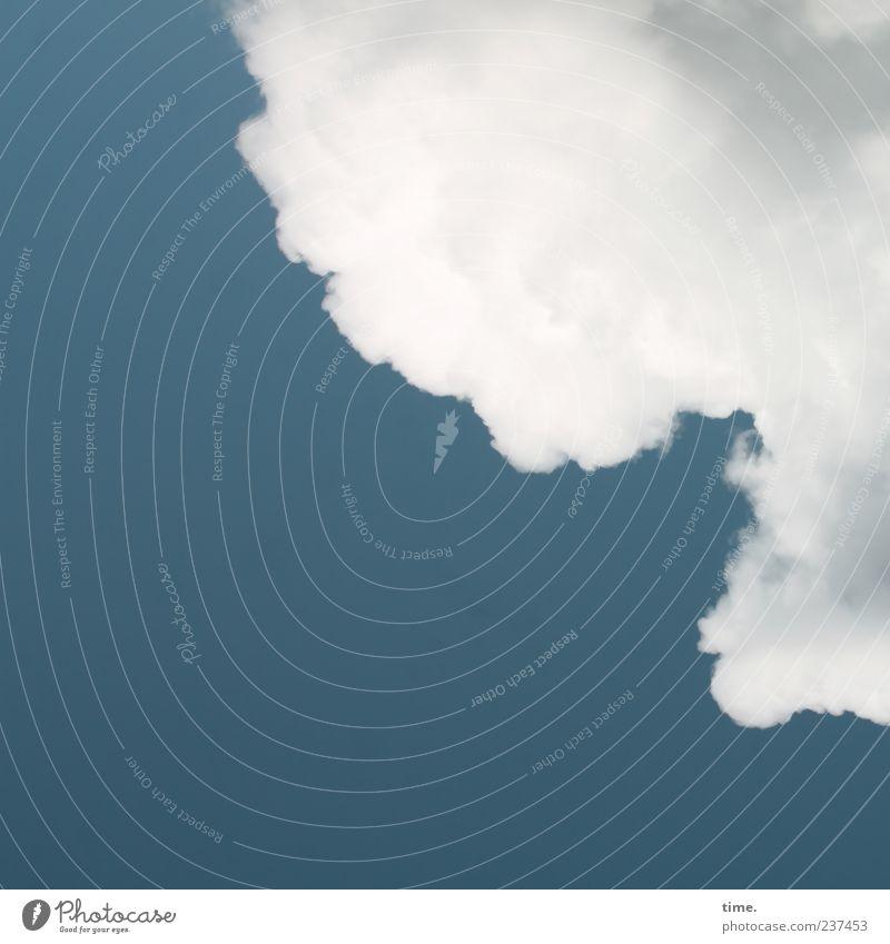 Himmel über Berlin blau weiß Wolken Ferne Umwelt Leben Stimmung Zufriedenheit Klima ästhetisch Wandel & Veränderung Hoffnung Ewigkeit Leidenschaft Inspiration