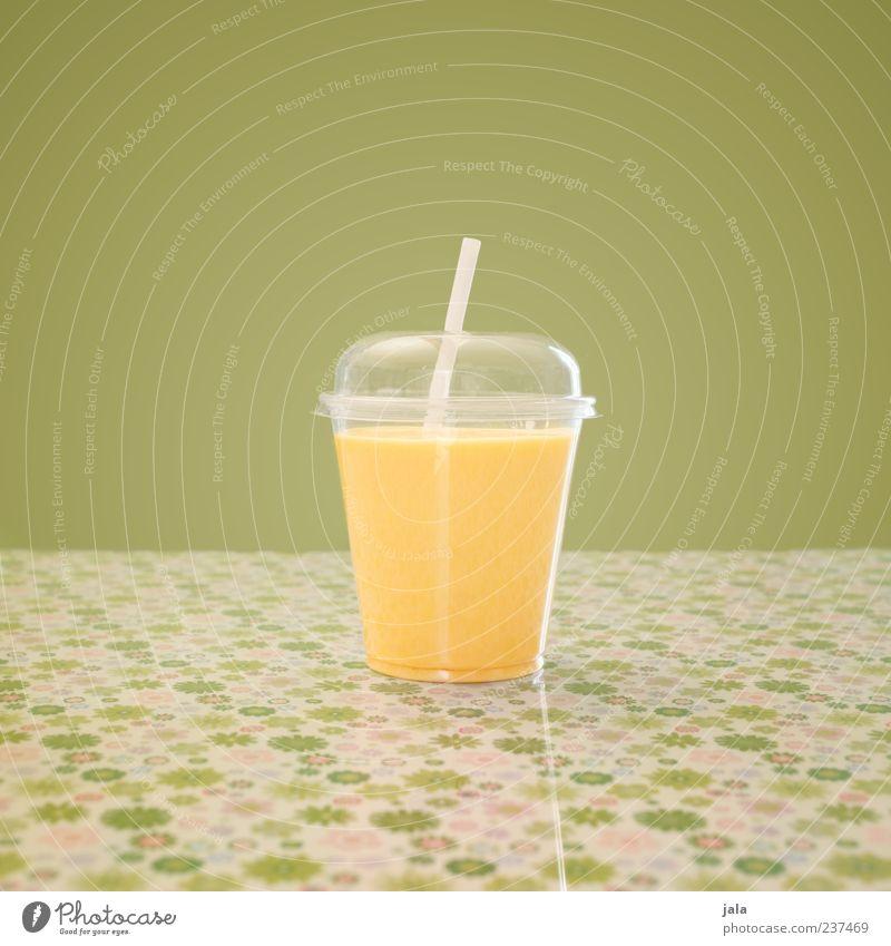mango lassi grün gelb Lebensmittel orange Frucht Getränk Kunststoff Appetit & Hunger lecker Milch Becher Trinkhalm Erfrischungsgetränk fruchtig Milcherzeugnisse