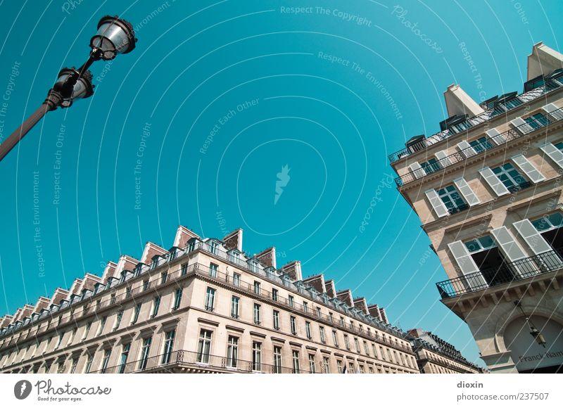 Rue de Castiglione alt Ferien & Urlaub & Reisen Haus Fenster Wand Architektur grau Mauer Gebäude Fassade Tourismus authentisch Europa Bauwerk Paris