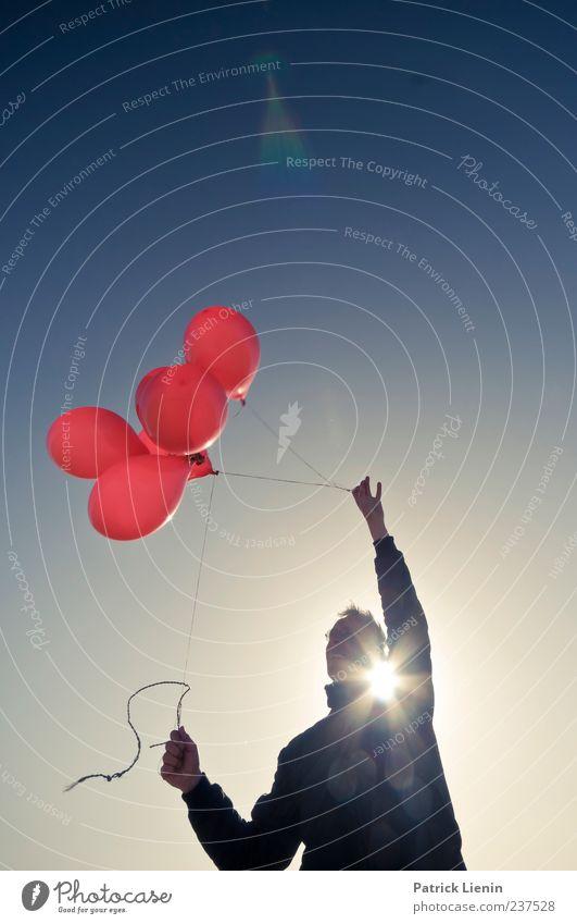 Spiekeroog | Forever Young Mensch Himmel Mann schön Ferien & Urlaub & Reisen rot Sonne Freude Erwachsene Ferne Umwelt Spielen Bewegung Freiheit Luft Wetter