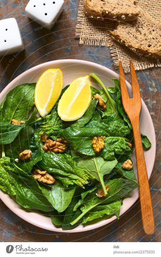 grün Speise natürlich Ernährung frisch Gemüse Diät Vegetarische Ernährung Salatbeilage Zitrone vertikal Vegane Ernährung roh Snack Schiefer Beilage