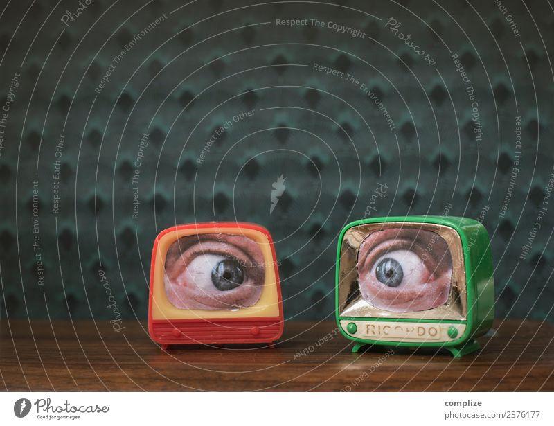 Watching you! Stil Freude schön Gesundheit Häusliches Leben Wohnung Raum Arbeitsplatz sprechen Fernseher Computer Technik & Technologie Unterhaltungselektronik
