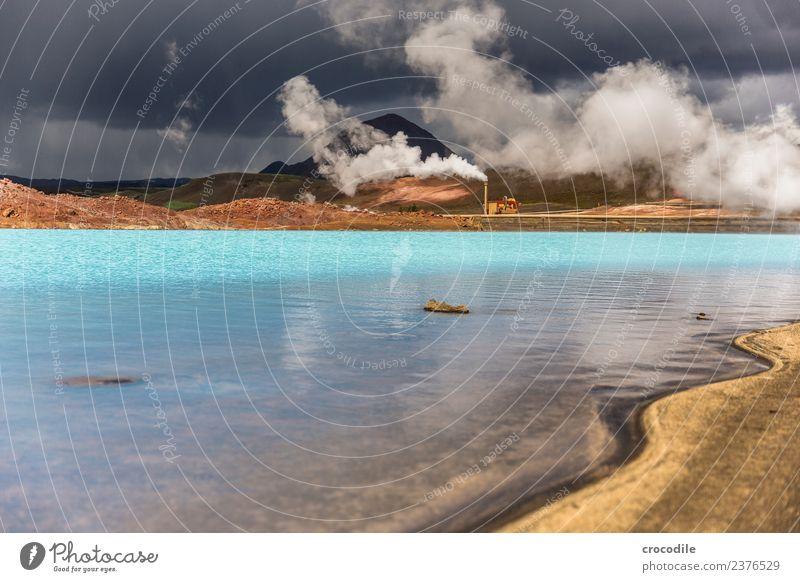 Island XI Ferien & Urlaub & Reisen Tourismus Sightseeing Sommerurlaub Berge u. Gebirge wandern Umwelt Natur Landschaft Urelemente Erde Luft Wind Sturm