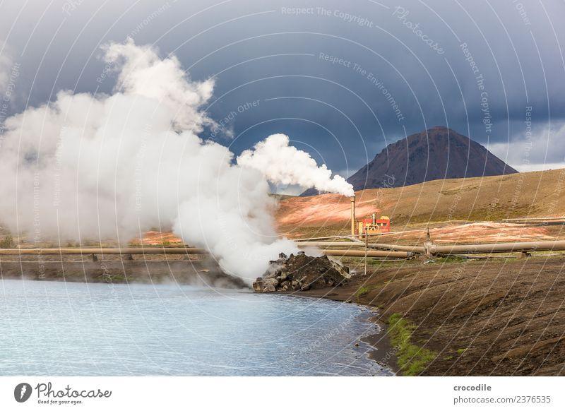 Island X Ferien & Urlaub & Reisen Tourismus Abenteuer Sightseeing Sommerurlaub Berge u. Gebirge wandern Umwelt Natur Landschaft Urelemente Erde Luft Wind Sturm